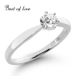 Timanttisormus Beat of Love R-22216DW (0,30 ct)