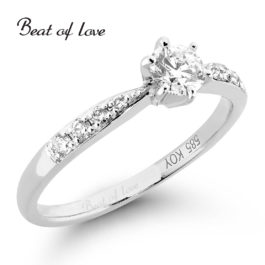 Timanttisormus Beat of Love R-22217DW (0,41 ct)
