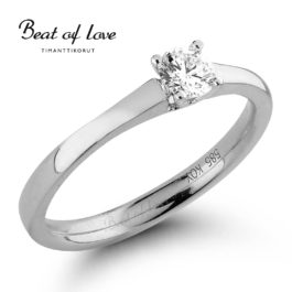 Timanttisormus Beat of Love R-22983DW (0,25 ct)